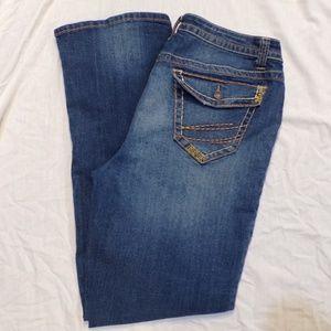 a.n.a. Dark Wash Boot Cut Jeans